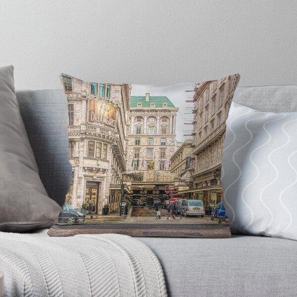 THE SAVOY, LONDON. Throw Pillow
