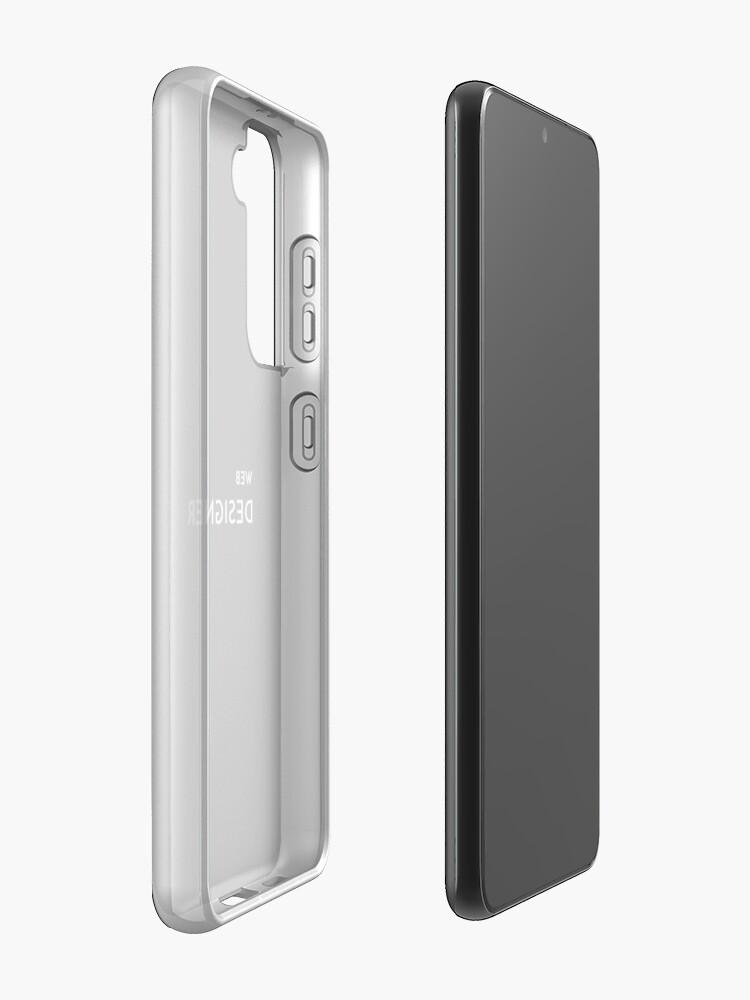 Alternate view of Web Designer Samsung Galaxy Phone Case