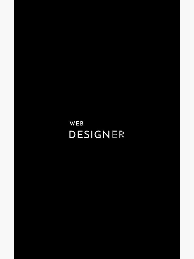 Web Designer by developer-gifts