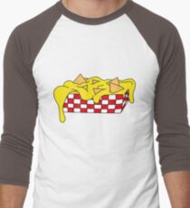 Nachos food vector illustration Men's Baseball ¾ T-Shirt