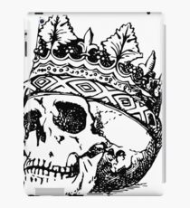 Skull with a Crown iPad Case/Skin