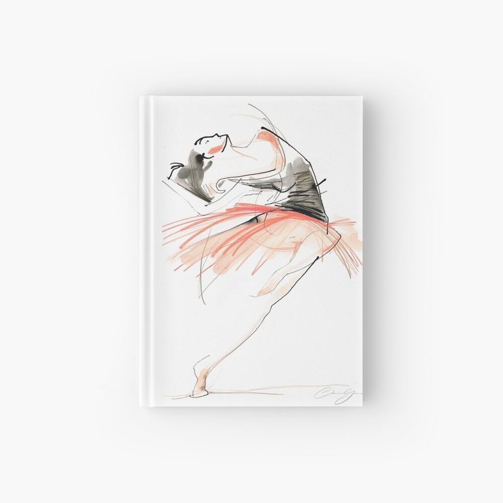 Expressive Dance Drawing Hardcover Journal