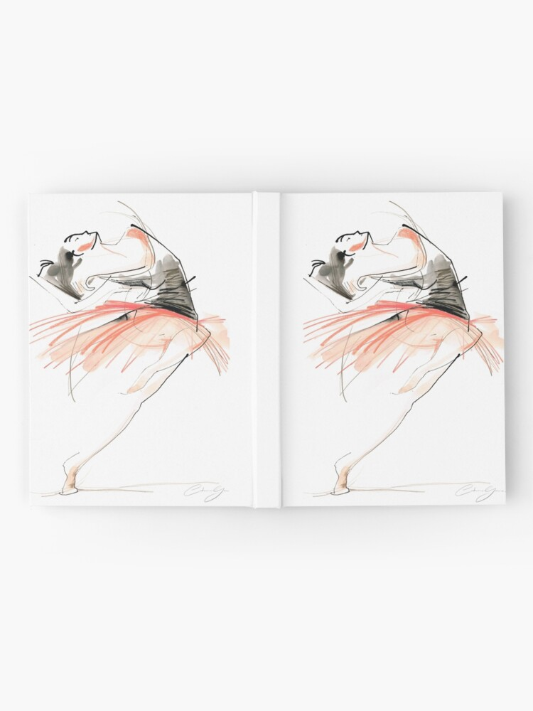 Alternate view of Expressive Dance Drawing Hardcover Journal