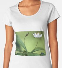 Starflower With New Bud Women's Premium T-Shirt