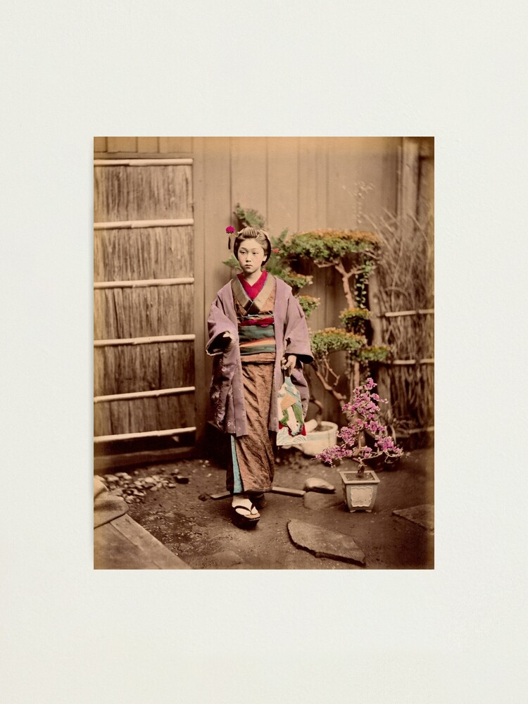 Alternate view of Japanese child Photographic Print