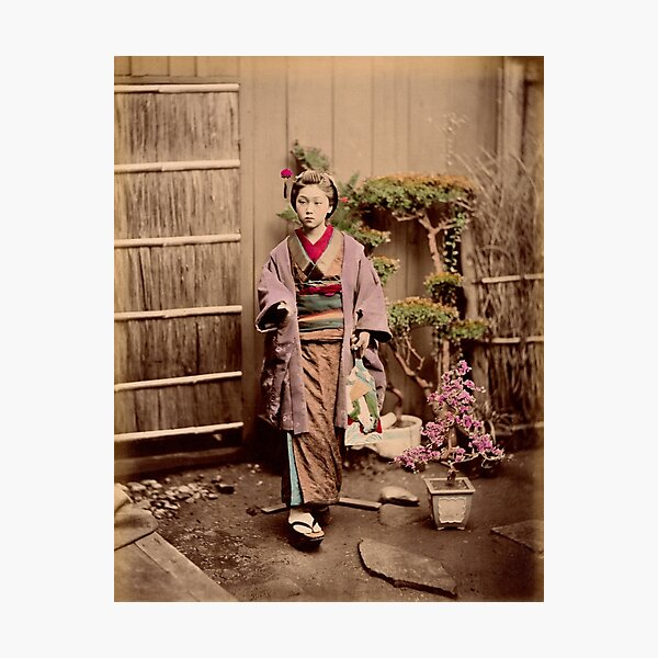 Japanese child Photographic Print