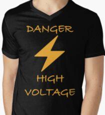 High voltage Men's V-Neck T-Shirt