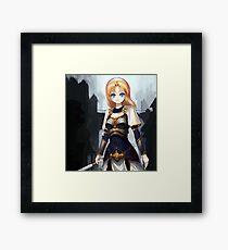 Lux league of legends Framed Print