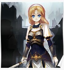 Lux league of legends Poster