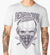 Neurofunk Soldier t-shirt   For every music lover Men's Premium T-Shirt
