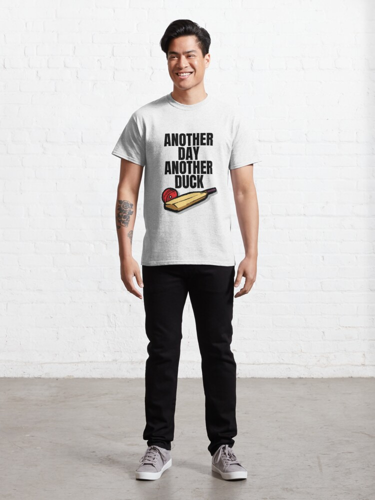 Alternate view of Cricketer Bat and Ball - Cricket Gift Classic T-Shirt