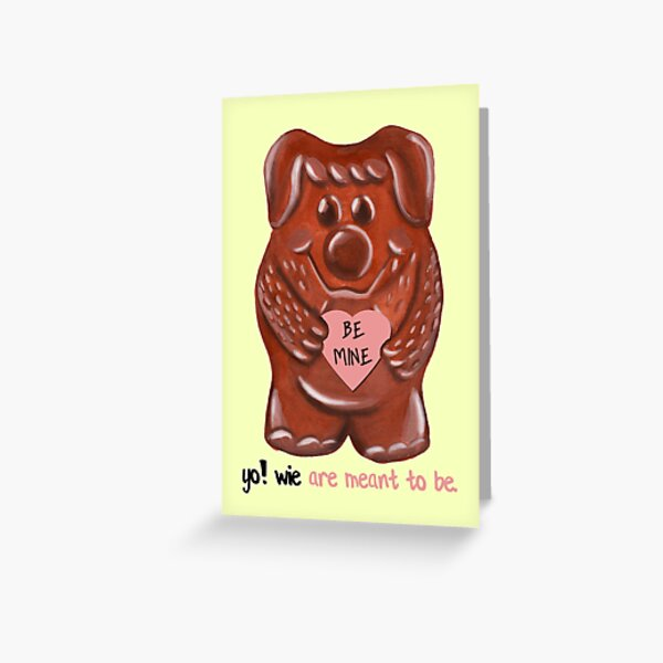 Yowie Are Meant To Be Greeting Card