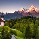 Pilgrimage Church Maria Gern (Bavaria) by Dirk Wiemer
