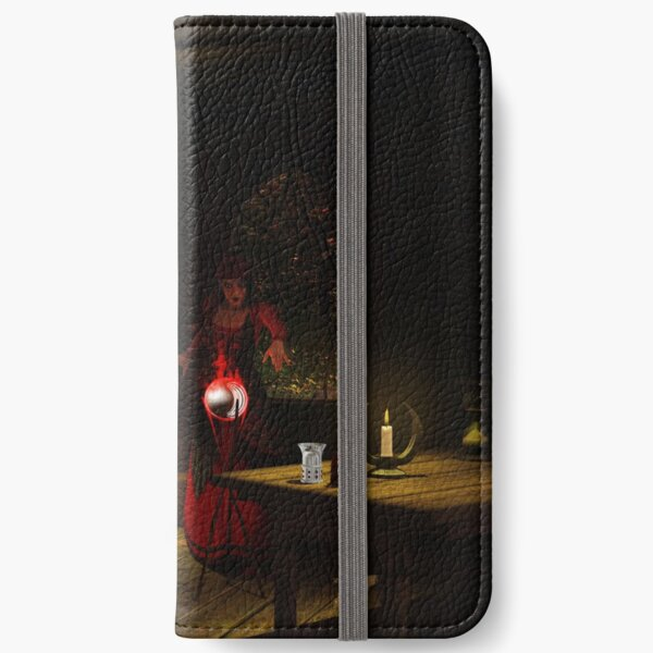 Witch At work iPhone Wallet