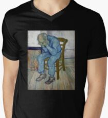 'At Eternity's Gate' by Vincent Van Gogh (Reproduction) T-Shirt
