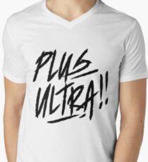 Boku no Hero Academia shirt [ PLUS ULTRA!! ] white Men's V-Neck T-Shirt