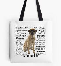 Mastiff Traits Tote Bag