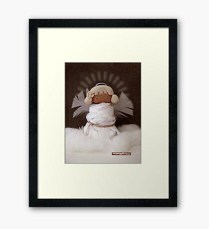 CHUNKIE Guardian Angel Framed Print
