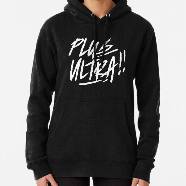 Boku no Hero Academia shirt [ PLUS ULTRA!! ] black Pullover Hoodie