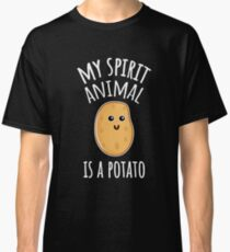 My Spirit Animal Is A Potato Classic T-Shirt