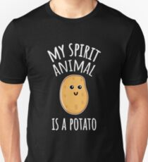 My Spirit Animal Is A Potato Unisex T-Shirt