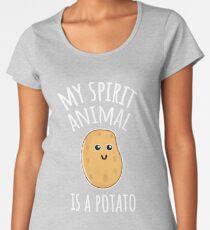 My Spirit Animal Is A Potato Women's Premium T-Shirt