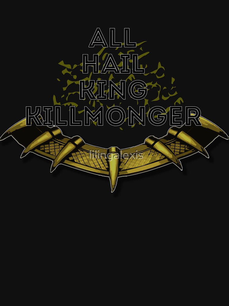 All hail king killmonger unisex t shirt by lilingalexis redbubble all hail king killmonger by lilingalexis voltagebd Gallery