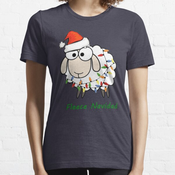 Fleece Navidad - Christmas Sheep Essential T-Shirt