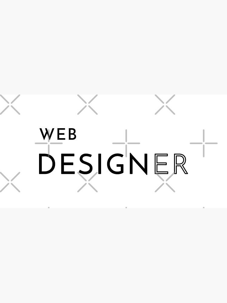 Web Designer (Inverted) by developer-gifts