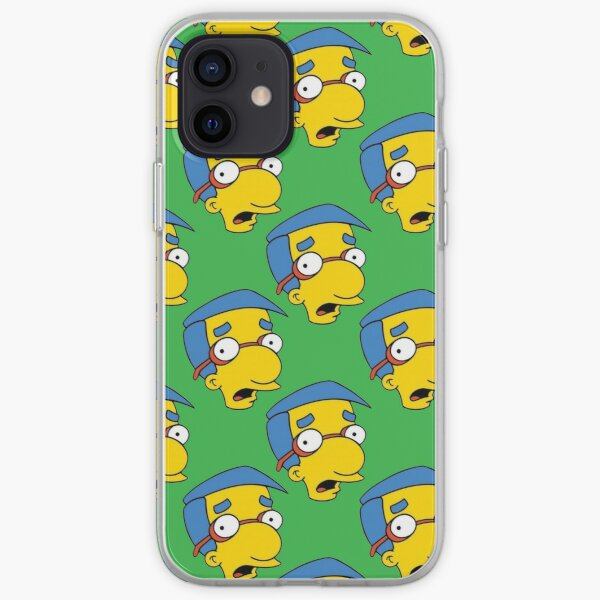 Milhouse On Green iPhone Soft Case