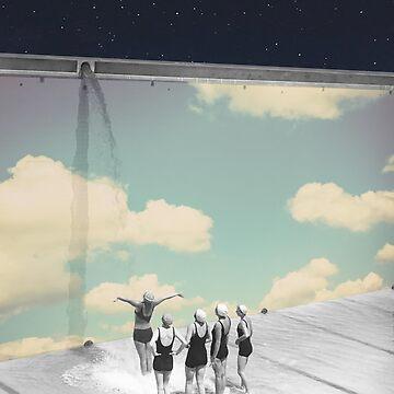 Wand der Wolken von TerryR