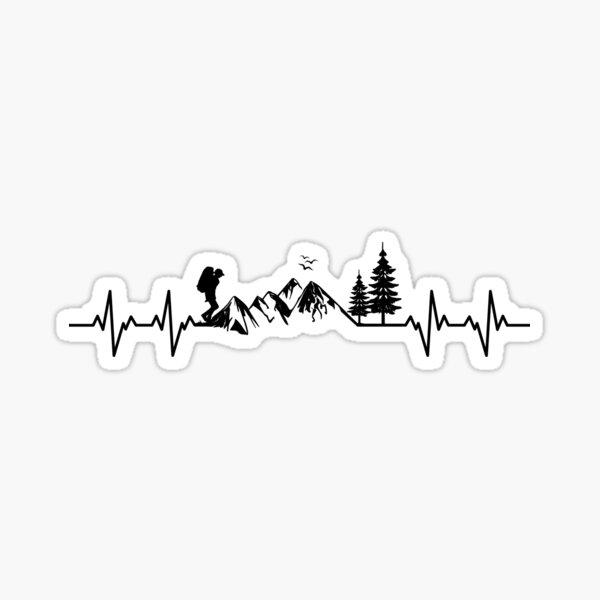My Heart Beats For Nature Sticker