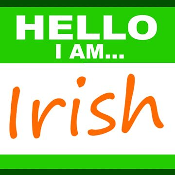 Hello, I am Irish by bethcentral
