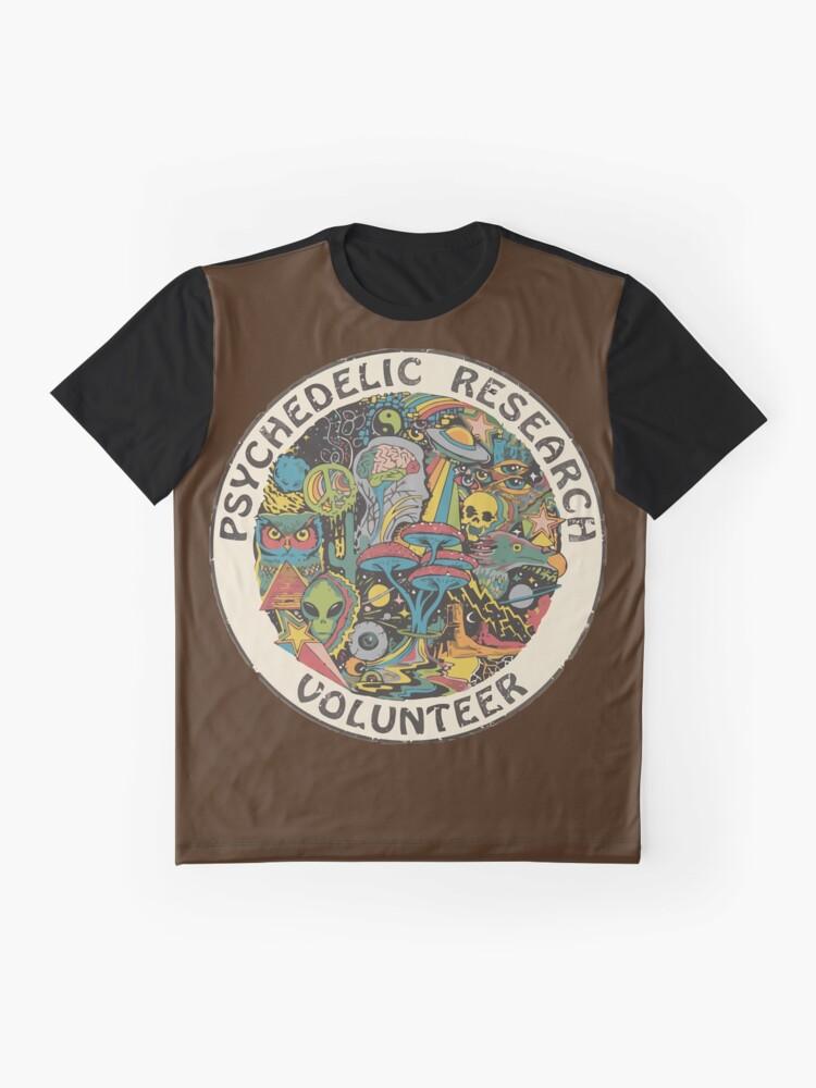 Alternative Ansicht von Forschungsfreiwilliger Grafik T-Shirt