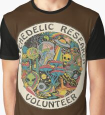 Research Volunteer Graphic T-Shirt