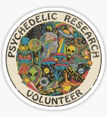 Research Volunteer Sticker