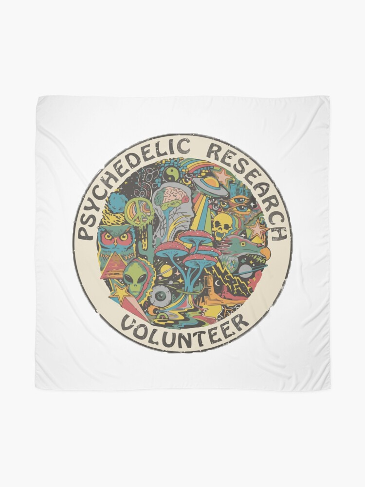 Alternate view of Research Volunteer Scarf