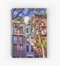 Christopher St And Gay St Spiral Notebook