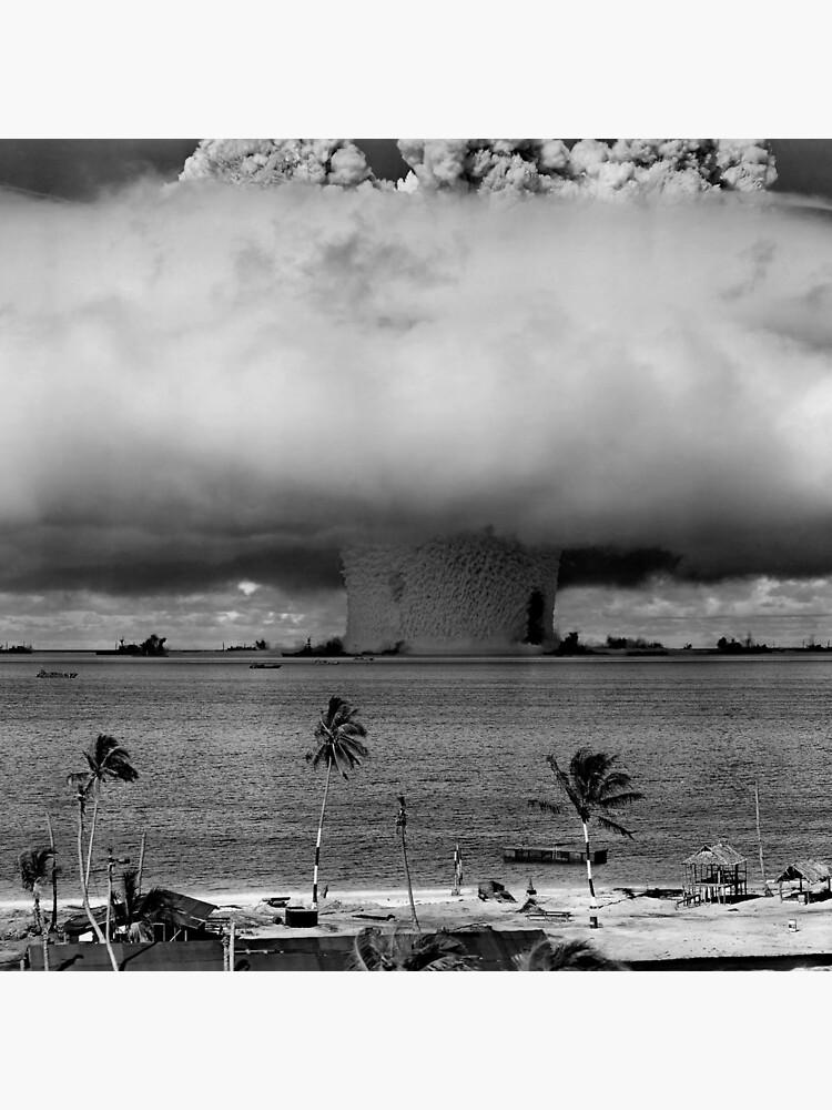 Atombombenpilz Cloud Operation Crossroads Baker Test von allhistory