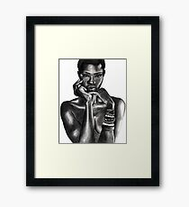 Ajuma - The Beauty Collection Framed Print