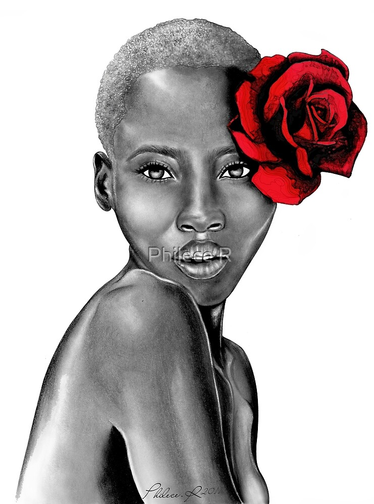 Uzuri Red | The Beauty Collection by Philece R