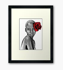 Uzuri Red | The Beauty Collection Framed Print