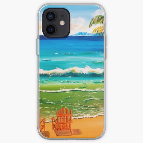 Beach Chairs iPhone Soft Case