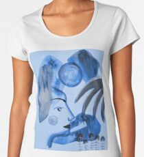 Postcard From An Unknown Land II Women's Premium T-Shirt