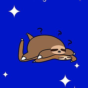 Thinking of You - Fat Sloth and Flat Sloth by SaradaBoru