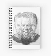 Cuaderno de espiral Metallica