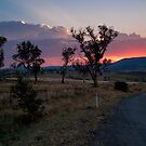 Canberra Sunset by Jason Hilsdon