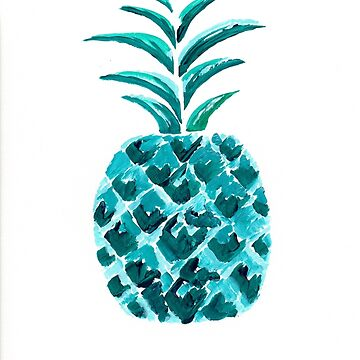 Blue Pineapple by mscottartMJs