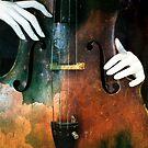 Manniquin on Cello  by ArtbyDigman