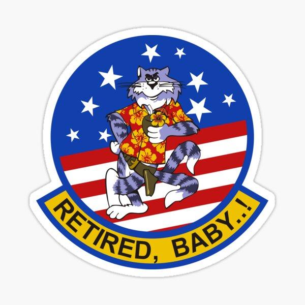 Tomcat Retired Sticker